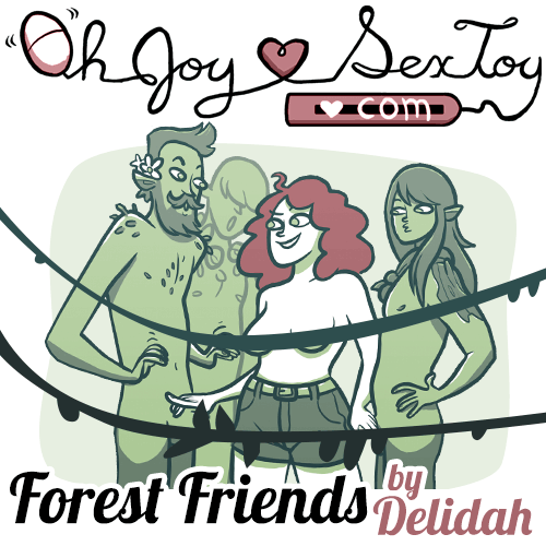 Forest Friends by Delidah