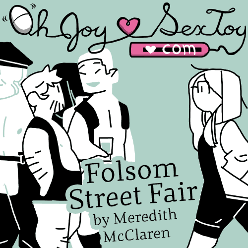Folsom Street Fair by Meredith McClaren