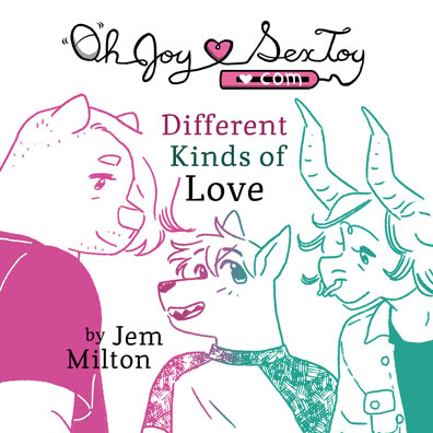 Different Kinds Of Love by Jem Milton